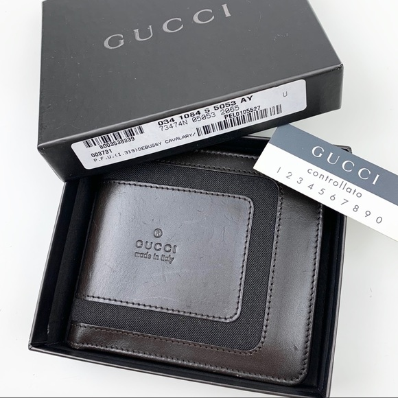 Gucci Other - GUCCI Rare Bifold Wallet